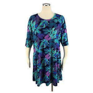 Discount Divas Large Boutique Dress Coral Sea